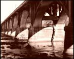 Sepia Bridge by druideye