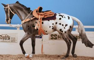 Western sidesaddle by tolthorse