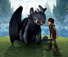 Toothless and Hiccup by Xx-NightFuryGirl-xX