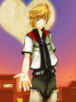 Come with me - Roxas by miina-nekoh