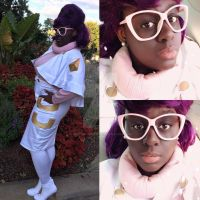 Wicke Pokemon Sun and Moon Cosplay by BeeNerdishCrafts