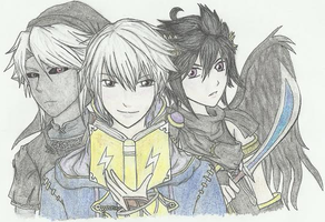 Robin and da Boyz by ShadowChao34