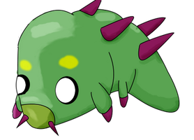 unnamed bug fakemon by RaynieCloud