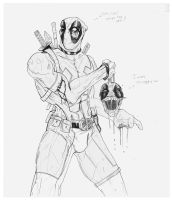 Deadpool and Headpool by suspension99