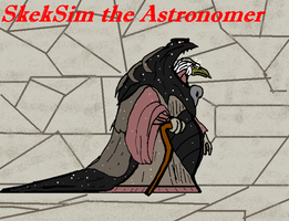 SkekSim the Astronomer by TheCiemgeCorner