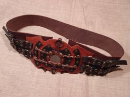 Steampunk belt by ChanceZero