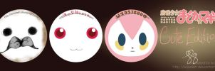 Madoka PINS! CUTE EDITION by lxoivaeh