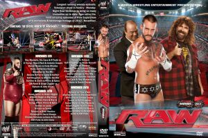 WWE Raw November 2012 DVD Cover by Chirantha
