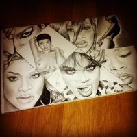 The Evolution Of Rihanna by DanielRamirez