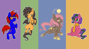 ponis for people by cappydarn