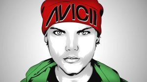 Avicii vector art by elatik-p