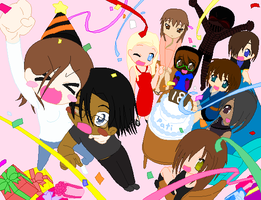 My Birthday Party 2011 by LoveAnime321