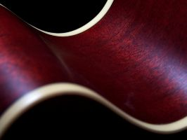 Abstract of an acoustic guitar by Yesitsdrew5310