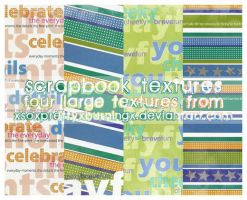 scrapbook textures 2 by pukingpastilles