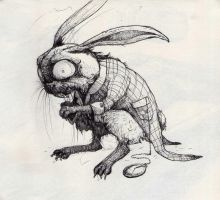 White Rabbit (Alice: Madness Returns inspired) by TeaLabel