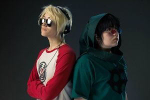 Anime North 2013 - Dave and Sollux 4 by EZsCosplays