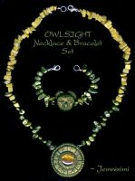 Owlsight - Owl Jewelrystuffs by jemnisimi