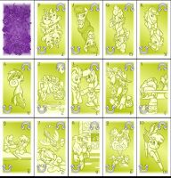 Pony Tarot Deck - Suit of Rainbows by Rannva