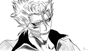 Grimmjow Sketch by kitty-23