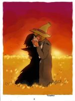 the Raven and the Scarecrow: 2 by twisted-wind