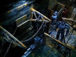 Pacific Rim Stop Motion Diorama Set by MattzProductionz
