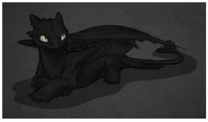Toothless Doodle by DeyVarah