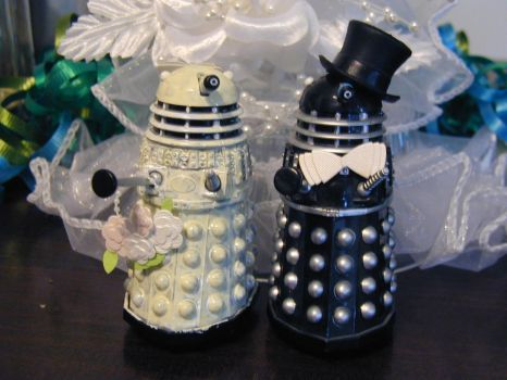 Dalek Wedding by Stormsong0702