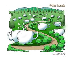 coffee ground by rudat