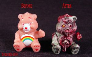 Killer Care Bear ROT BEAR COMP by Undead-Art