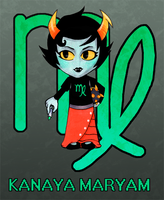 Homestuck: Kanaya Maryam by colorchaos