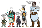 Kithri and crew by Teela-B