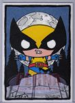 Stewie as Wolverine by ElainePerna