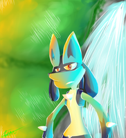 Lucario by GreenCulus