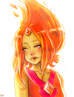 AT: Flame Princess by Jaskierka