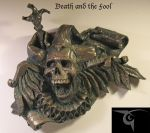 Death and the Fool faux bronze finish by BLACKPLAGUE1348