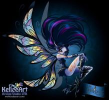 Nefairyous Black by KelleeArt