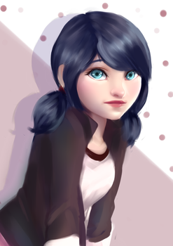 Marinette Doodle by MilanaMill