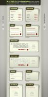 Web Forms and Elements PSD by djnick2k