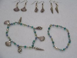 Ocean Treasures Jewelry Set by CostumesbyCait