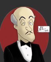 Alfred Pennyworth by intykon