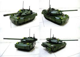 Redesign Lego Tank 1 by SOS101