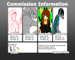 Commission Price Sheet by TheFrizzyKitten