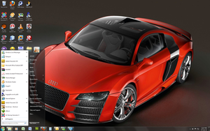 Windows 7 Theme - Audi R8 by Windowsthememanager
