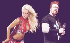 Sheamus and Maryse Graphic 5 by verusImmortalis