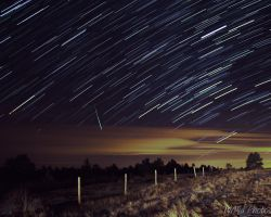 Geminid Meteor Shower by MirMidPhotos