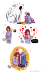 Undertale -Rest- by Amayakuu