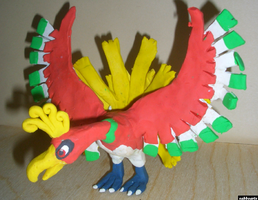 Ho-Oh by Sabbochan