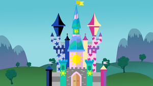 The Castle of the Three Princesses (Goldichaos) by Magpie-pony