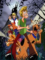 the Scooby Gang by dreames
