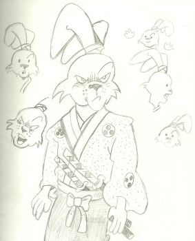 Usagi Yojimbo 2 by Goldenbond